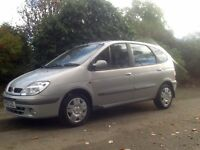 02/52 RENAULT MEGANE SCENIC EXP+DCi 1.9 DIESEL ONLY 56,000 MILES FULL SERVICE HISTORY