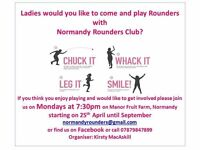 Normandy Rounders team
