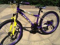 Carrera Luna girls disc brake mountain bike good condition