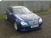 GOING CHEAP EX/con INSIDE AND OUT MERCEDES C220 CDI SE