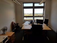 Office Share Available in Large 3 Man Office in Basepoint, Shoreham with Stunning Sea Views