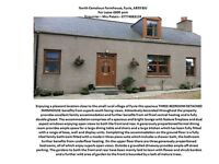 Unfurnished, Spacious 3 bedroomed detached farmhouse set in a rural location