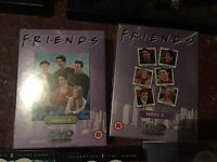 Brand new unopened Friends box sets DVDs