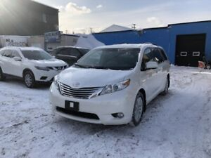 Toyota Sienna Limited AWD 2012 AUTOMATIQUE, DVD, GPS, INTÉRIEUR