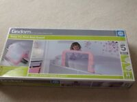 Lindam Easy Fit Pink Bed Guard