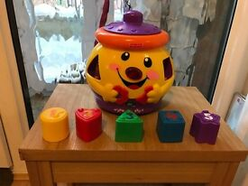 Fisher Price 'Laugh & Learn' Cookie Jar Toy
