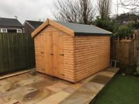 6x8 BARN ROOF SHED HEAVY DUTY T&G £689 ANY SIZE AVAILABLE (FREE DELIVERY AND INSTAL)