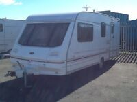 1998 sterling ECCLES emerald 4 berth end changing room with awning