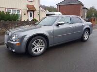57 plate chysler 300c full history immaculate condition low miles new mot full leather sat nav