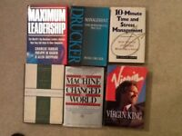 6 management books