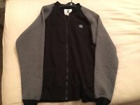 FOREST 2 Star Quilted Sleeve Baseball Jacket