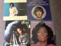 Records - Vinyl - Natalie cole, Diana Ross, Peabo,