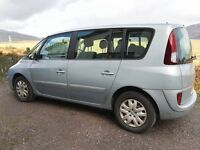 Renault Espace,One owner currently motd and taxed, 7 individual seats great flexible space