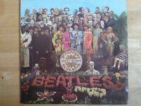 3 Beatles Records: Original Sgt. Peppers, Disc Print Abbey Road, Disc Print Revolver