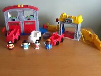 Fisher Price Little People Sounds Emergency Set