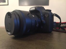 Canon 7D (no lens included)