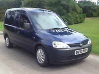 Vauxhall combo 1.7 cdti. Diesel. 60. Reg. 1. Years mot