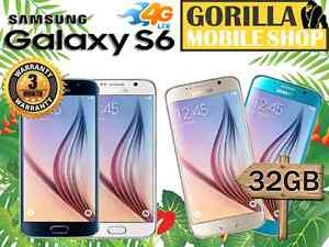 EXCELLENT CNDITION GALAXY S6 32GB FACTORY UNLOCKED NEARLY NEW Strathfield Strathfield Area Preview