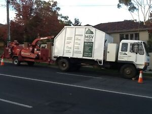 Chipper Truck and 19inch chipper for hire with operator Gembrook Cardinia Area Preview