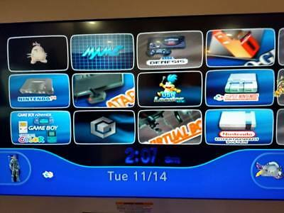 Wii  Sd Card 32Gb  Ready Games Emulator Games And Custom Themes For 4 3
