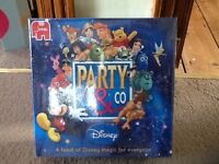 NEW & NOT OPENED DISNEY GAME OF PARTY & CO. FUN FOR ALL THE FAMILY & STATUE MICKEY HELPS YOU PLAY