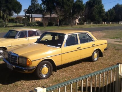 1976 Mercedes-Benz 300 Sedan Allora Southern Downs Preview