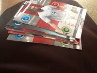 PANINI ENGLAND ADRENALYN FOOTBALL CARDS SWAPS