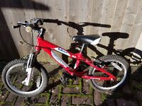 "Boys Carrera Blast Bike 16"" £20 ono"