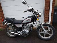 HUONIAO 125CC LEARNER LEGAL MOTORBIKE FULL WORKING ORDER