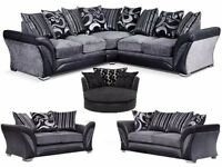 BRAND NEW--SHARON CORNER SOFA & 3+2 SEATER IN DIFFERENT COLOURS ORDER NOW!!