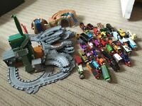 Thomas and friends magnetic trains and track
