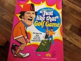 Tommy cooper golf set