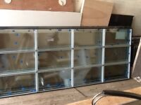 4 brand new visa therm 12 MM double glazed units toughened glass
