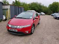 06 PLATE HONDA CIVIC. 2.2 TURBO DIESEL FEBRUARY 2019 MOT