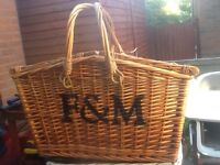 FORTNUM AND MASON picnic hamper
