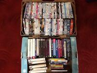 DVD and book job lot