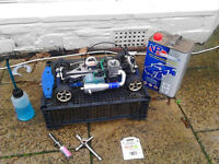 RC NITRO 1:10 SCALE THUNDER TIGER TS4N CAR SOLD>>>SOLD<<<