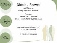 Eating Disorders therapy