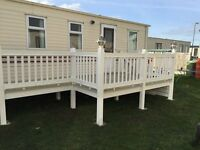 3 Bedroom Caravan To Hire Rent Towyn Wales School Holidays Not Rhyl Prestatyn