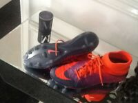 Nike football boots size 9 cost £140 like new £50
