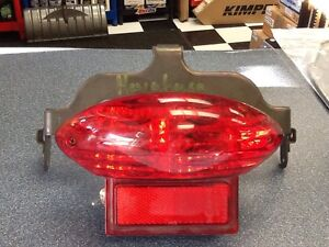SUzuki Hayabusa Tail light Assembly with bracket