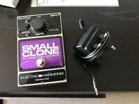 Electro Harmonix Small Clone Chorus Guitar Pedal