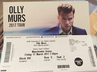 X2 Olly Murrs tickets