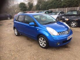 2008 [58] NISSAN NOTE 1.6 AUTOMATIC TEKNA 1 OWNER 60K