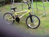 BOYS BMX STYLE BIKE AGE 6-12