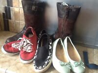 Size 3 Shoes and boots