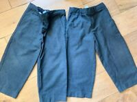 Boys grey school trousers age 3-4 yrs £3 for all. (can post)