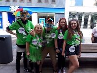Oxfam charity street Fundraiser - immediate start - £9.40-£14/hr