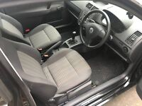 Volkswagen Polo Black 1.2 2007 y MOT May 2017 Only 1700