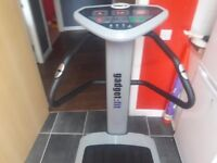 Gadget-fit vibrating plate machine ,excellent condition,can deliver